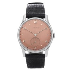 Longines Vintage 23M Men Stainless Steel Watch