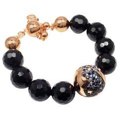 Pasquale Bruni Sogni d'Oro Sapphire Ruby Diamond Gold Bracelet