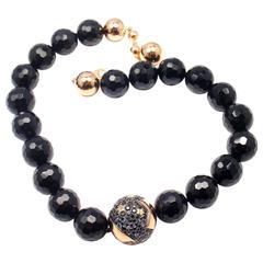 Pasquale Bruni Sogni d'Oro Diamond Sapphire Ruby Rose Gold Necklace