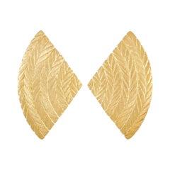 Buccellati 18K Yellow Gold Earrings