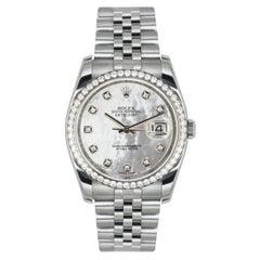Rolex Datejust Diamond Set 116244 Watch
