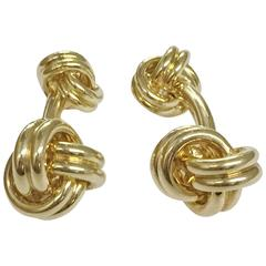 Classic Gold Knot Cufflinks