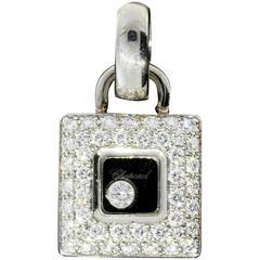 Chopard Happy Diamonds Diamond Gold Icons Pendant