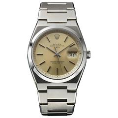 Rolex Stainless Steel Oyster Perpetual Date Wristwatch Ref 1530