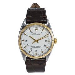 Rolex Steel and 14Kt. Solid Gold Oyster Perpetual with Original Dial Mid 1960's