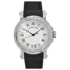 Breguet Stainless Steel Marine Automatic Big Date Wristwatch