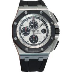 Audemars Piguet Stainless Steel Royal Oak Offshore Chronograph Wristwatch