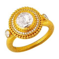 Byzantine Solitaire Rings
