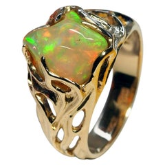 Art Nouveau Engagement Rings