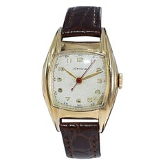 Lonville Yellow Gold Filled Swiss Made, Circa 1940's