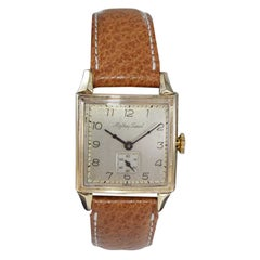 Mathey Tissot Gold Filled Watch in New Condition, Circa 1940's