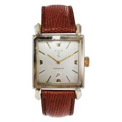 Elgin Mid Century Manual Winding Watch
