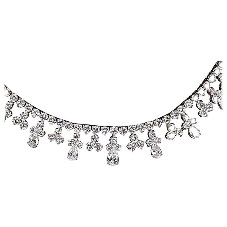 Classic Diamond Gold Necklace