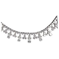 Classic Diamond Gold Necklace