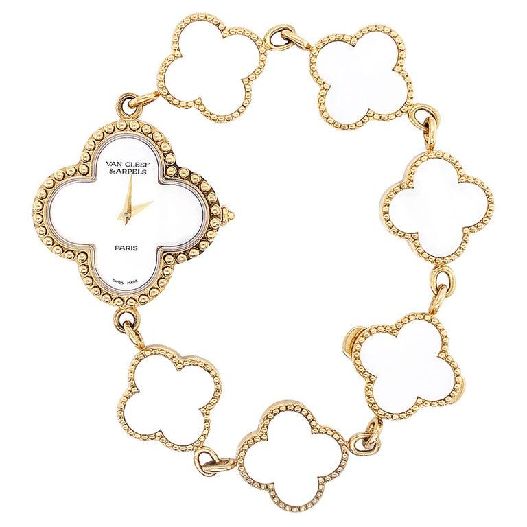 Van Cleef & Arpels Alhambra Watch For Sale