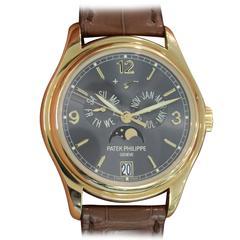 Patek Philippe Yellow Gold Annual Calendar Automatic Wristwatch Ref 5146J-010