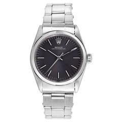 Vintage Rolex Stainless Steel Oyster Perpetual Wristwatch
