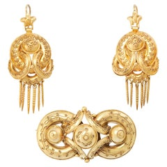 High Victorian Earrings
