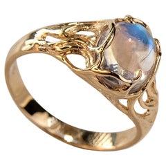 Art Nouveau More Rings