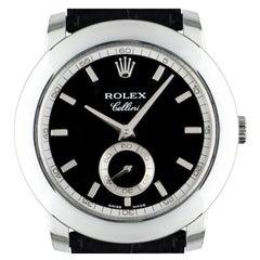 Rolex Cellini NOS Unworn Platinum 5241 Watch