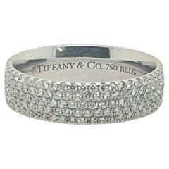 18kt White Gold Tiffany & Co. Metro Design Ring