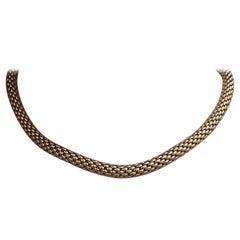 Fope Italy Flex 'It 18 Karat Yellow Gold Necklace