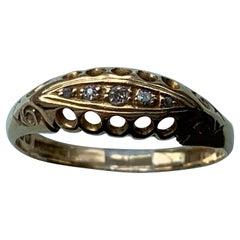 18ct Gold Edwardian Antique Diamond Ring