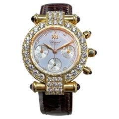 Chopard Imperial Diamond Ladies Watch Chronograph Bazel