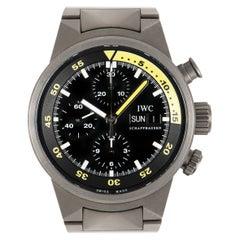 IWC Aquatimer Chronograph Titanium IW371903 Watch