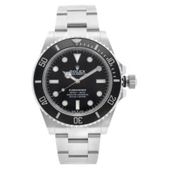 Rolex Submariner No Date Steel Black Dial Automatic Mens Watch 124060BKSO