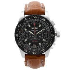 Breitling Skyracer Raven Steel Black Dial Automatic Mens Watch A27364