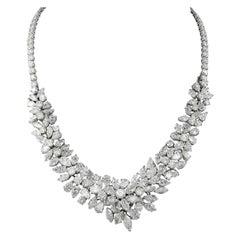 Van Cleef & Arpels Diamond Necklace Detachable Bracelet