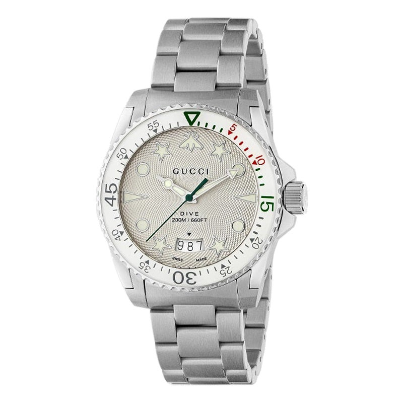 Gucci Dive Stainless Steel Watch YA136336