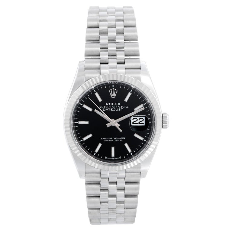 Rolex Datejust Men's Stainless Steel Watch 126234 For Sale