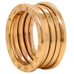 Bvlgari B.Zero 18K Gold Four Band Ring