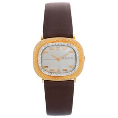 Jaeger LeCoultre 14K Yellow Gold Manual Winding Watch