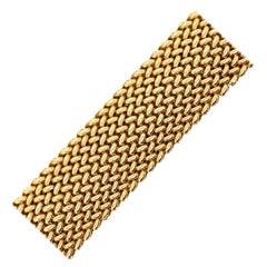 Mesh Gold Bracelet