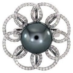 Art Nouveau Solitaire Rings