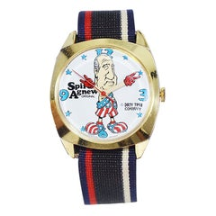 """Spiro Agnew Two for the Price of One Original """"Dirty Watch Time"""" from Early 70's"""