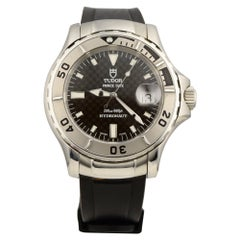 Tudor Hydronaut Prince Date Ref. 89190 Stainless Steel Rubber Strap Watch