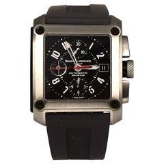 Baume & Mercier Hampton Square XXL Chronograph Stainless Steel Watch