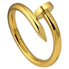 "Cartier Juste Un Clou ""Nail"" Large Model Yellow Gold"