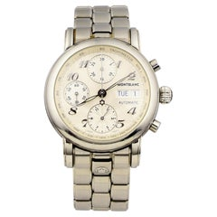 Montblanc Stainless Steel Meisterstuck 7016 Unisex Watch