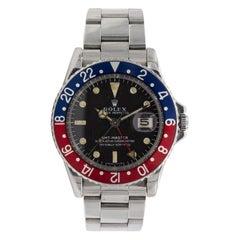 """Vintage 1960 Rolex Sport """"Pepsi"""" GMT Master 1675"""