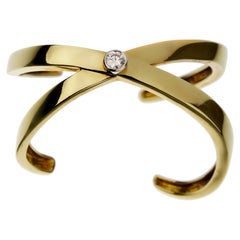 Tiffany & Co. Graffiti Paloma Picasso Diamond Bangle Cuff Bracelet