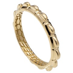 Croc Tail Stacker Ring in 18ct Yellow Gold