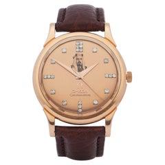 Omega Constellation 0 0 Men Rose Gold Sheikh of Bahrain' Watch
