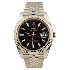 Rolex Datejust Black Dial Ref. 126334