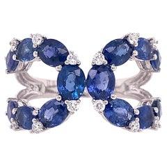 Ruchi New York Blue Sapphire Ring