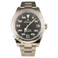 Rolex Airking Ref. 116900 in Black Dial Stainless Steel Watch